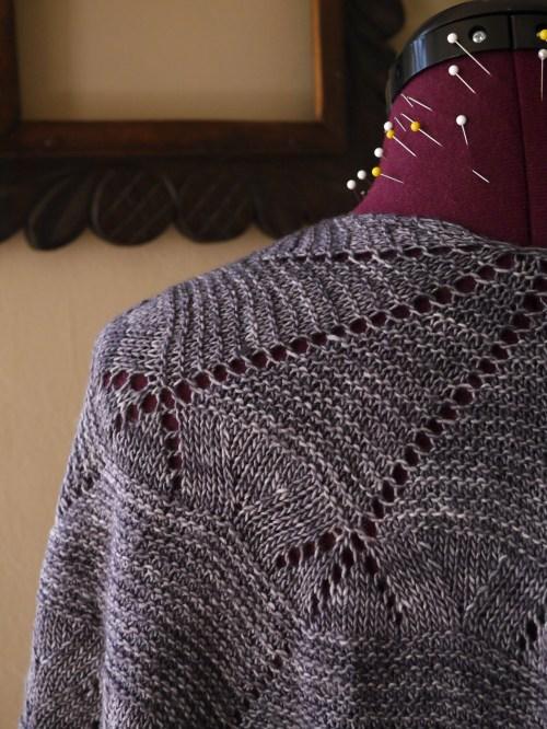 Kora knitted shawl 1