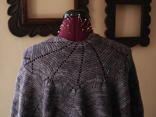 Kora knitted shawl 3