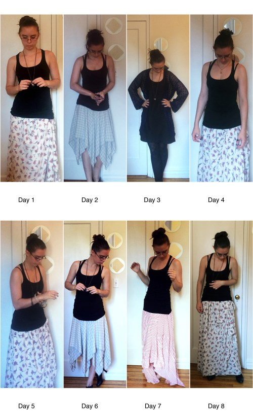 The Self-Made Wardrobe Week 1
