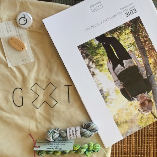Gauge and Tension goodie bag