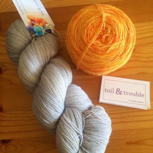 Toil & Trouble lace weight yarn