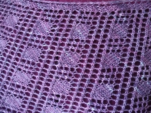 lace mesh pattern - Rosmerta