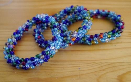 blue-bead-crochet-bracelets