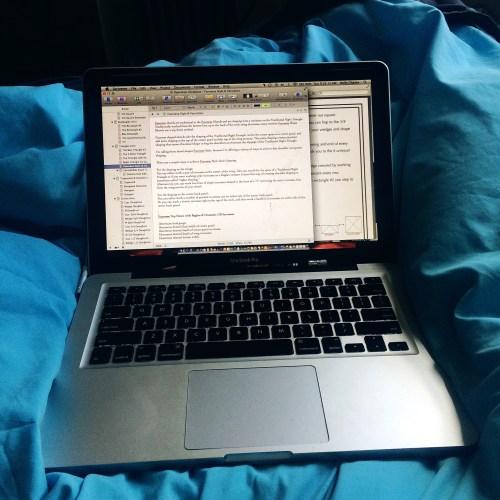 cozy writing