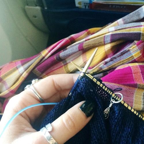 Airplane Knitting