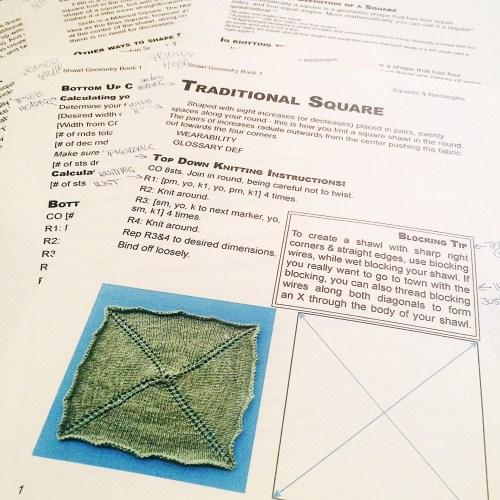 Shawl Geometry layout