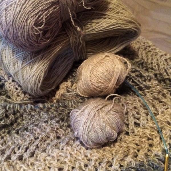 frogging knitting