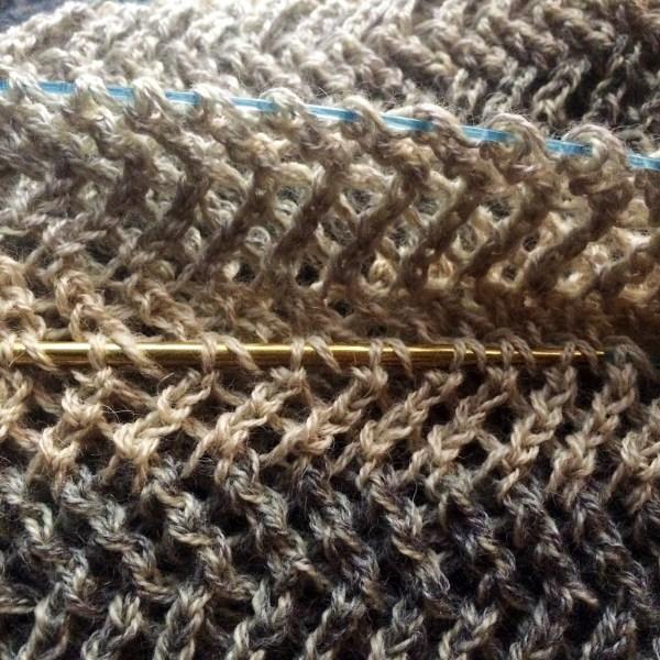 ripping back knitting