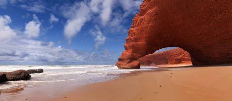 legzira beach luki skalne