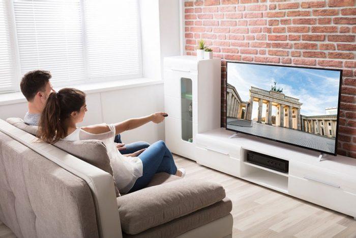 la distance ideale entre la tv