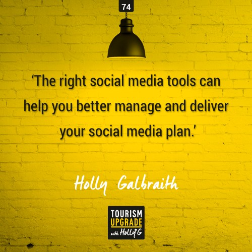 The right social media tools can help you better manage and deliver your social media plan