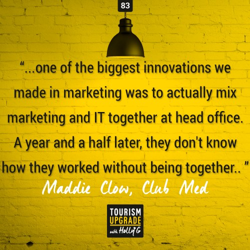 Tourism Upgrade Podcast with Club Med