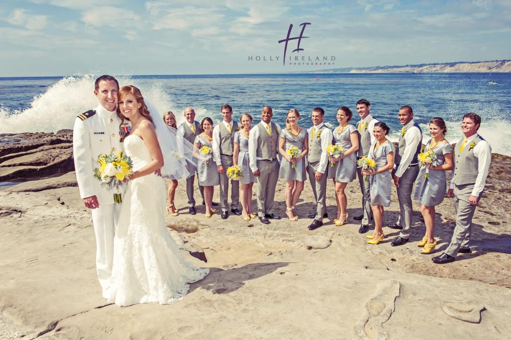 San Diego Wedding Photos taken at La Jolla Cove Suites