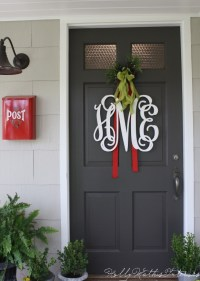 A proper monogram + Christmas chatter - Holly Mathis Interiors
