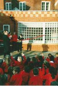 New building opening 2001