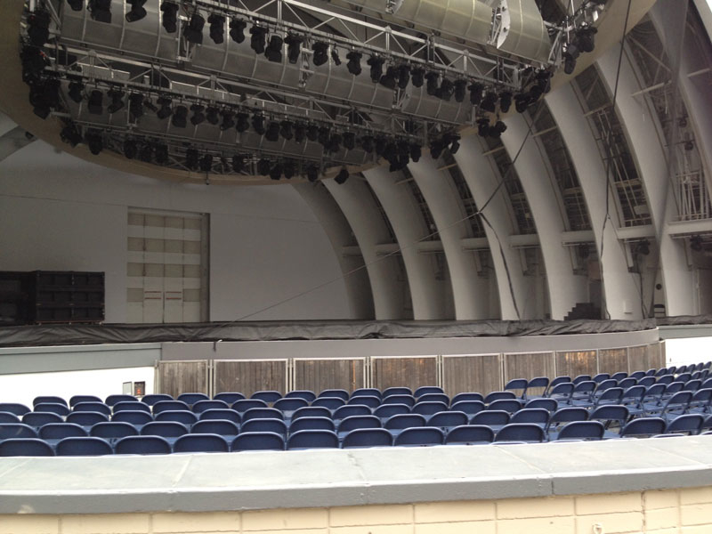 Seat Views  Hollywood Bowl Tips