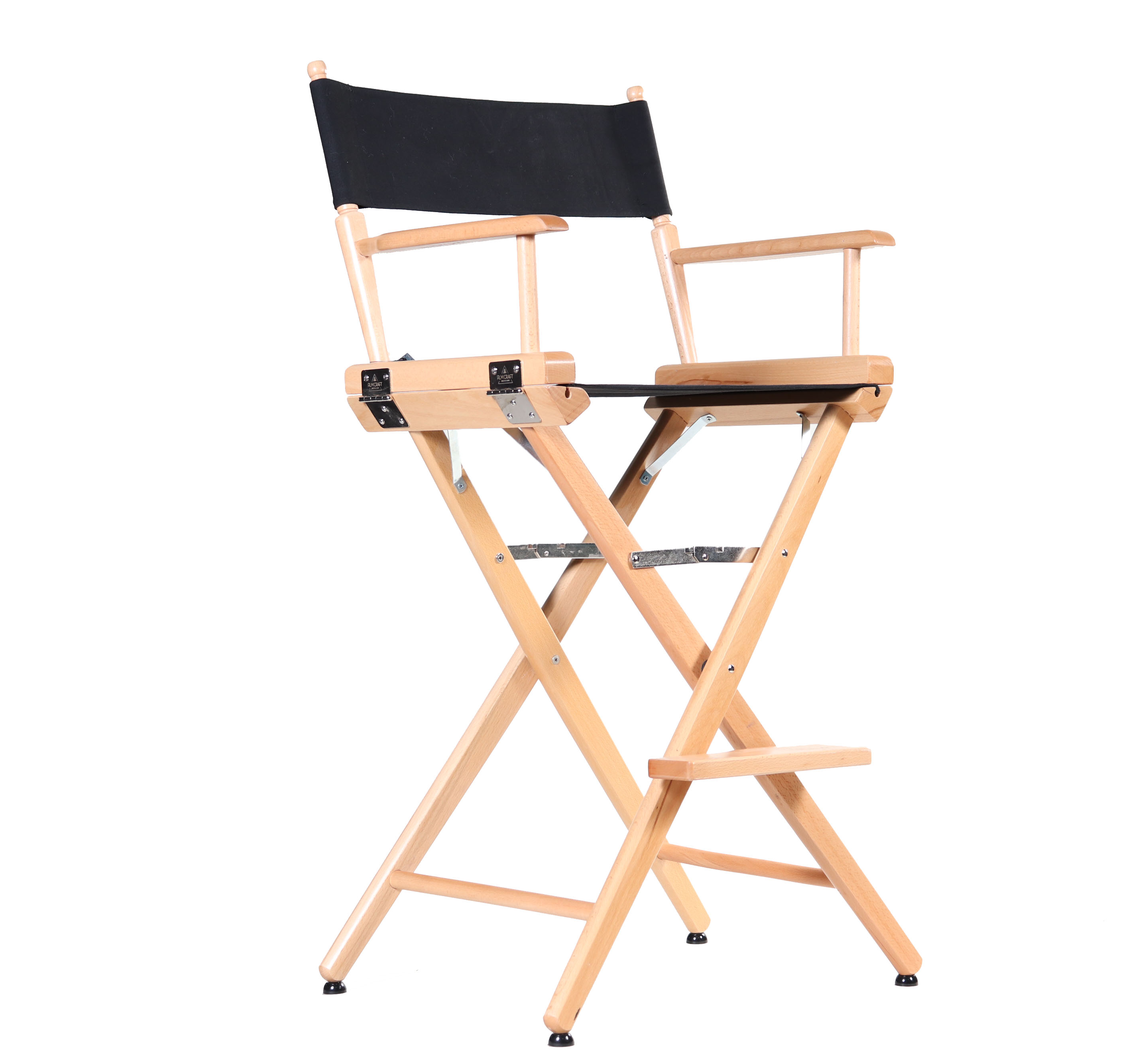 tall director chair futon mattress cover directors bar height filmcraft brand hollywood