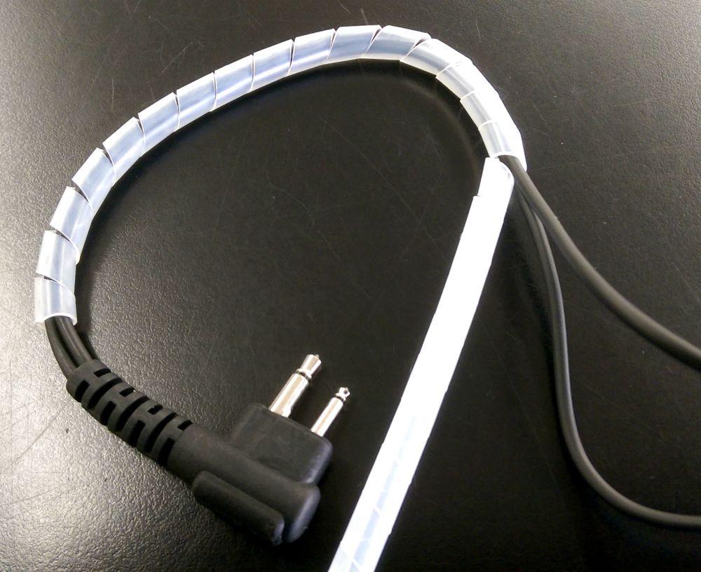 medium resolution of surveillance kit spiral cable wrap