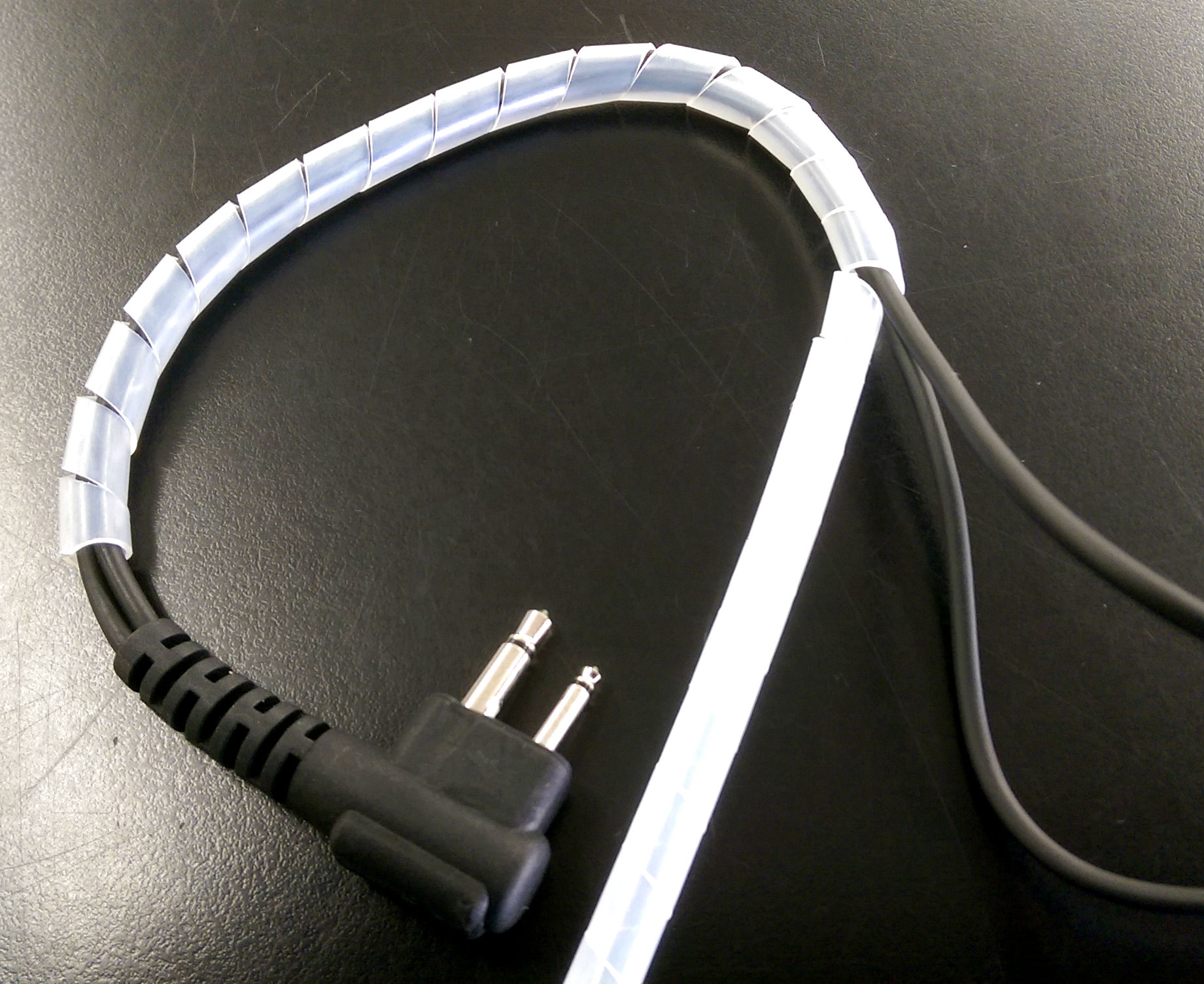 hight resolution of surveillance kit spiral cable wrap