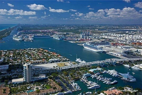 Port everglades is open with no restrictions