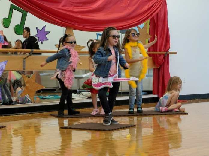 Littlest actors summer arts camp performance pic