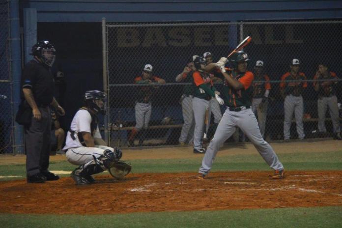 Mcarthur high school baseball team is 8-1