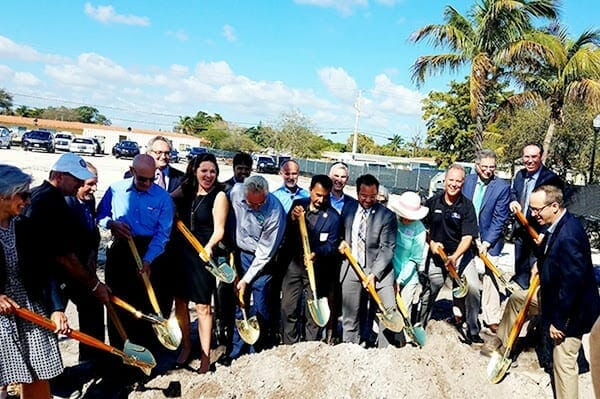 Affordable senior housing development breaks ground on adams st. after 20 years of planning; completion set for 2020