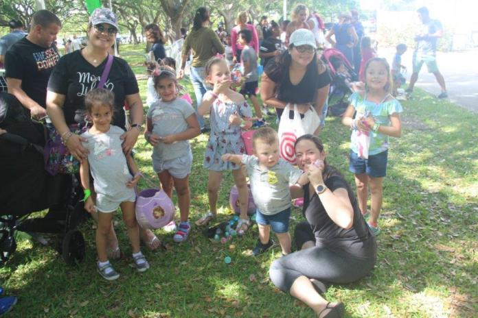 Spring marshmallow event brings families together