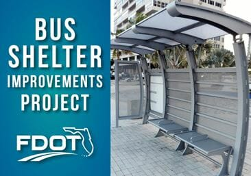 11 new bus shelters set to be installed in hollywood along us 1