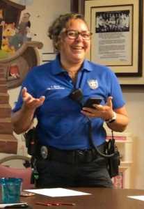 Code Officer Katia Silva