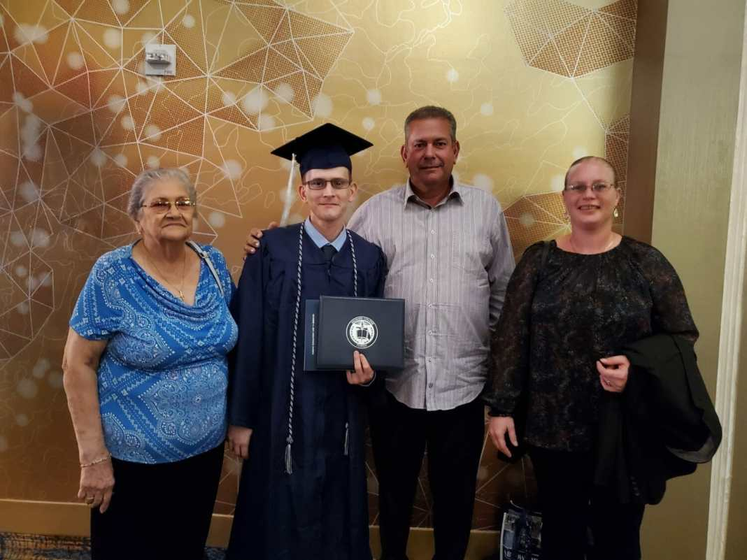 Hollywood resident patrick borges defies the odds with graduation from broward college