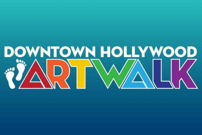 New Event Hours for the 3rd Saturday Downtown Hollywood ArtWalk Now from 6  PM – 11 PM