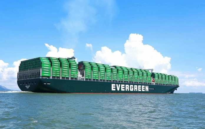 Evergreen Line adds stop at Port Everglades. Photo courtesy of container-mag.com.