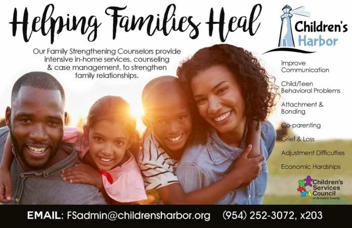 Children's Harbor Offering Free In-Home Counseling for Broward County Families