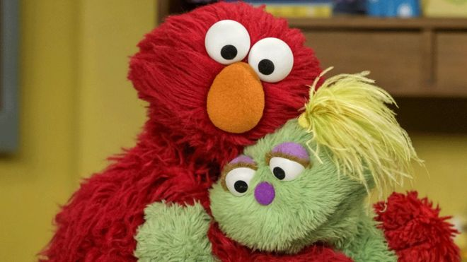 Elmo And Karli Sesame Street