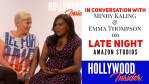 Watch: Reaction From Stars: In Conversation With Mindy Kaling & Emma Thompson On <em>Late Night</em>