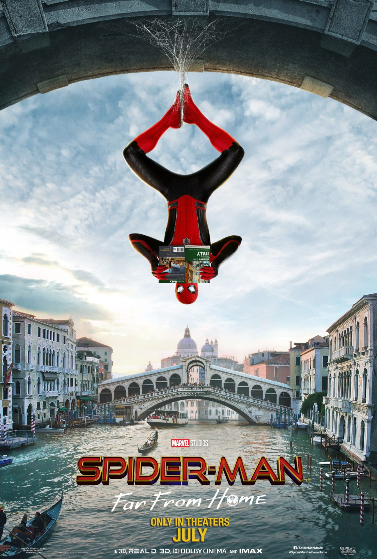 Spider-Man Far From Home Tom Holland Poster