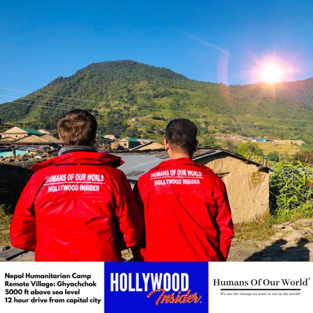 Hollywood Insider & Humans Of Our World Nepal Campaign Remember Forgotten Remote Villages Earthquake Victims And Donate Supported By Dame Judi Dench And Joanna Lumley OBE (1)