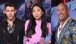 Video: 'Jumanji: The Next Level' - Flashback Reactions From Stars on the Adventure with Dwayne Johnson, Nick Jonas, Awkwafina & Team