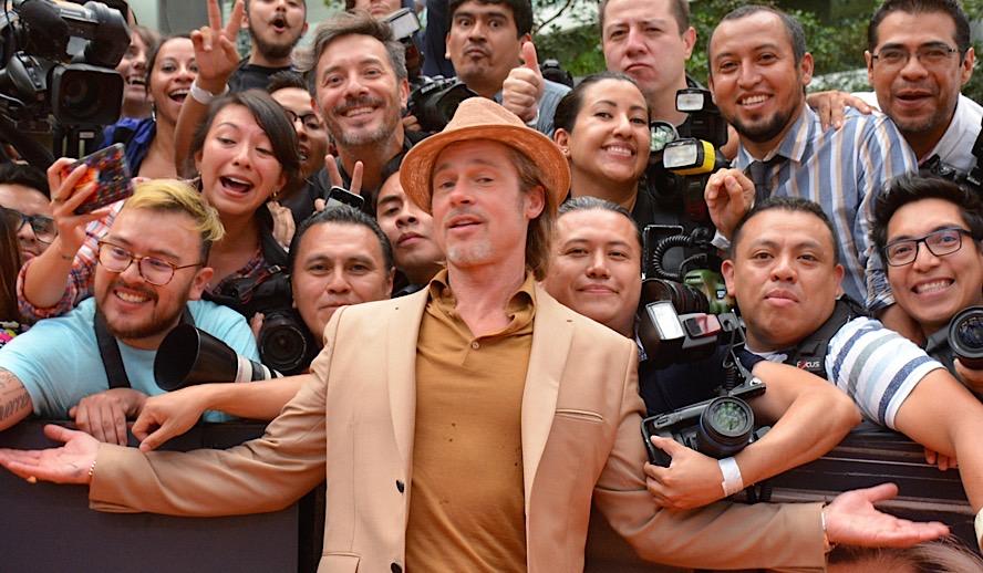 Hollywood Insider Feature Brad Pitt Oscars, SAG, Golden Globes, BAFTAs