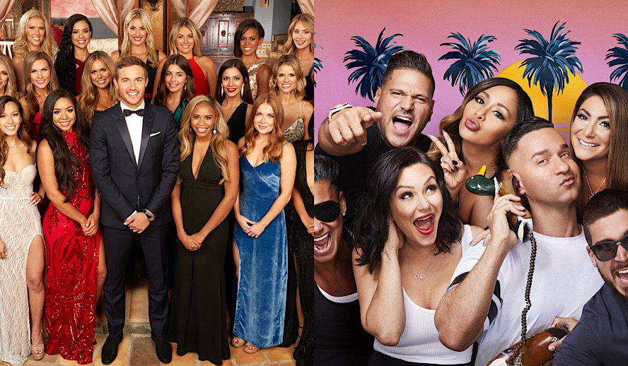 Hollywood Insider Reality TV Stereotypes The Bachelor, Jersey Shore, The Apprentice