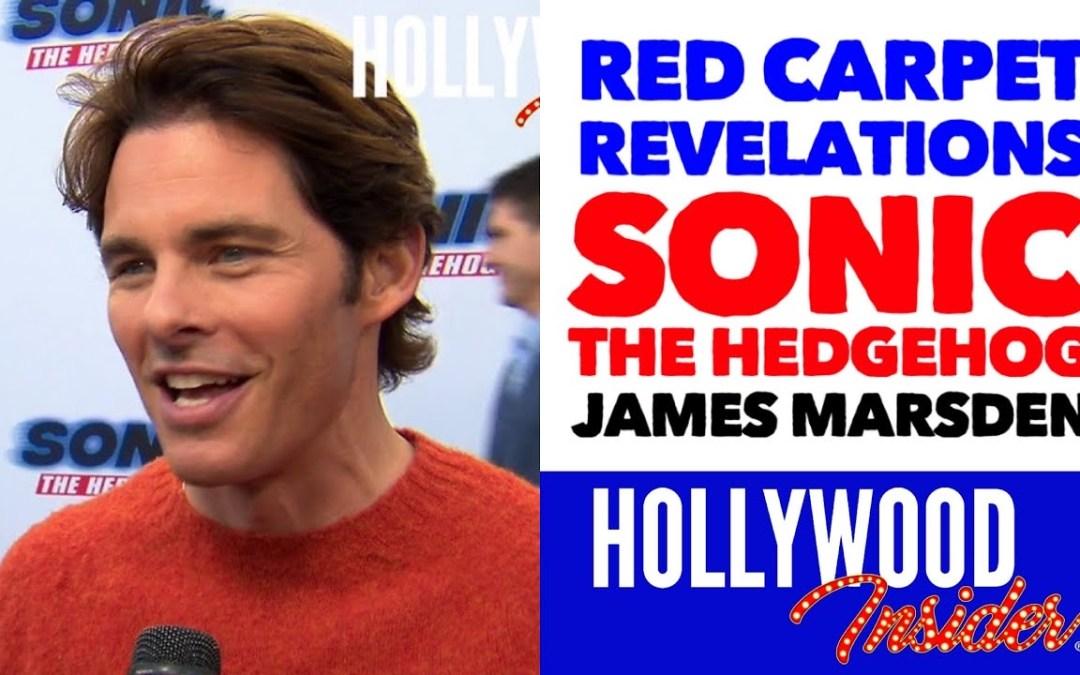 Video: 'Sonic The Hedgehog' Red Carpet Revelations with James Marsden – Tom Wachowski