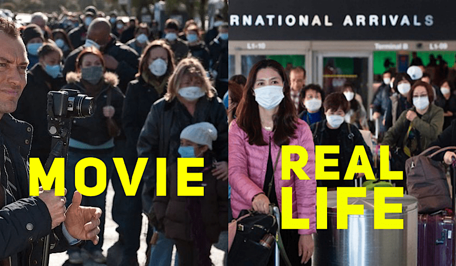 Hollywood Insider Comparison Pandemic Contagion & Outbreak Review Coronavirus