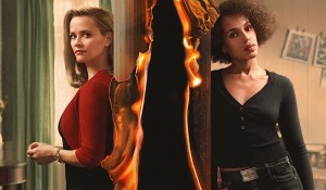 Hollywood Insider Review Little Fires Everywhere Reese Witherspoon, Kerry Washington