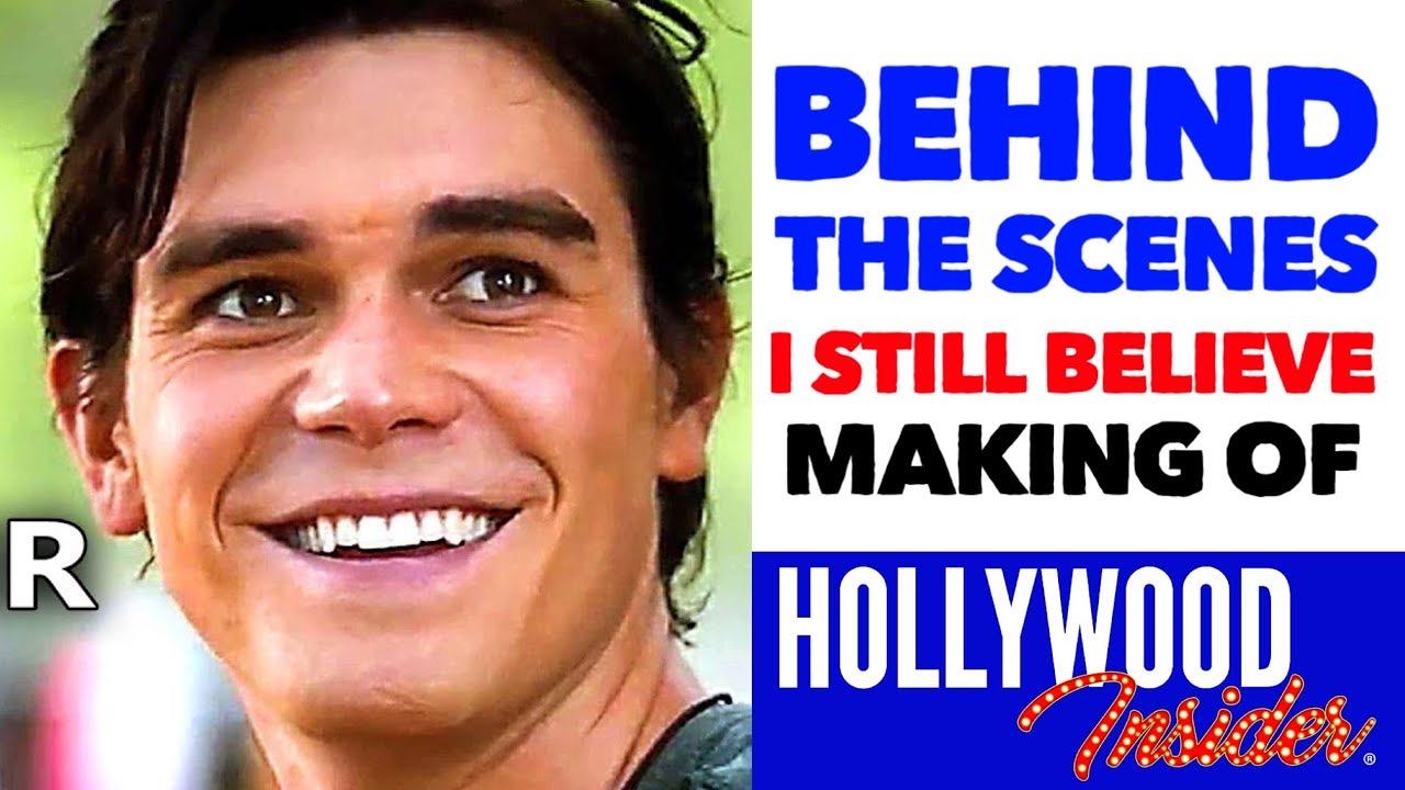 Hollywood Insider I Still Believe, Behind The Scenes, Making of, KJ Apa