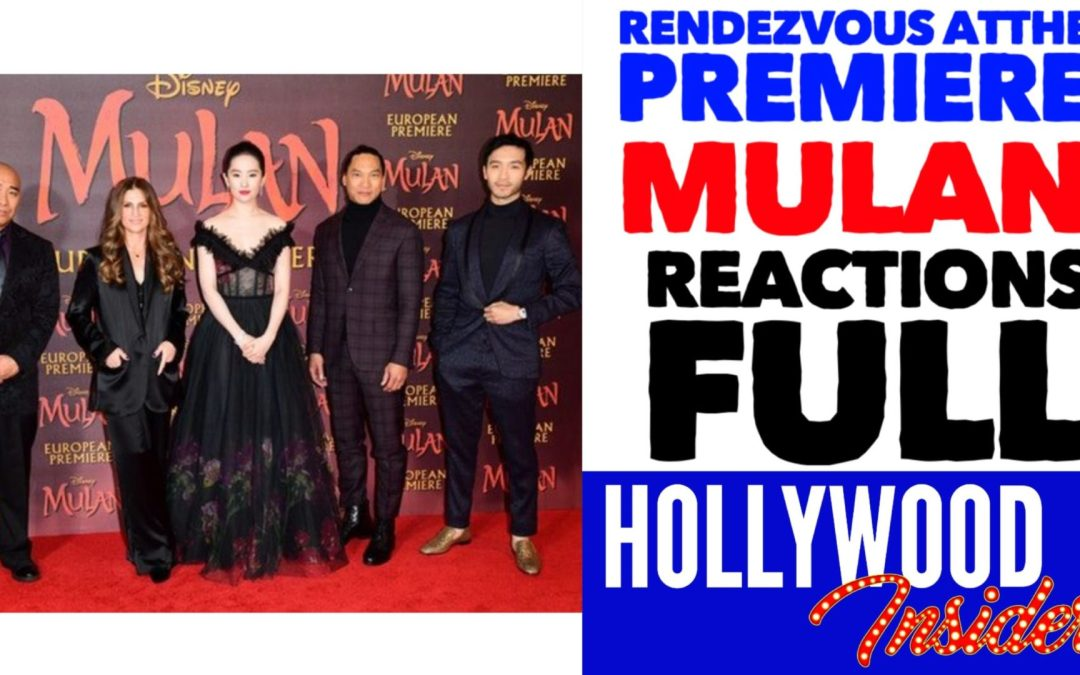 Video: 'MULAN' Rendezvous At The Premiere with Reactions from Yifei Liu, Donnie Yen, Ming-Na Wen, Jet Li
