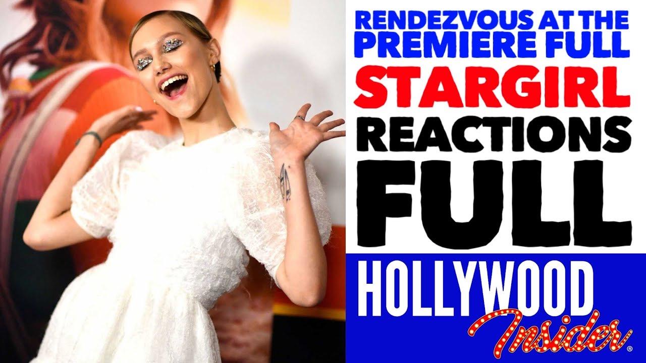 Hollywood Insider Stargirl Premiere Grace Vanderwaal, Graham Verchere, Giancarlo Esposito