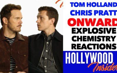Video: The CHEMISTRY of Tom Holland & Chris Pratt is Explosive in 'Onward'   Disney/Pixar