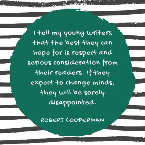 Robert Cooperman quote