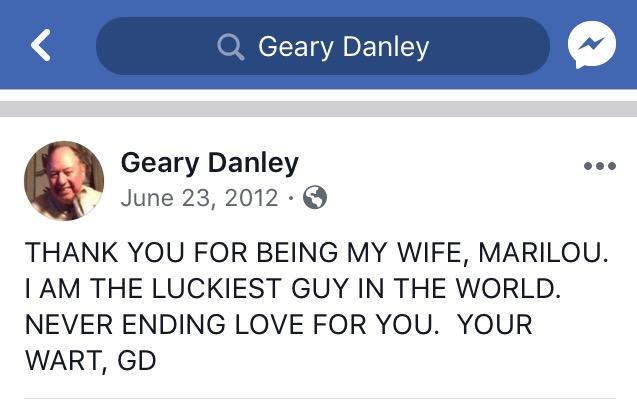 Marilou Danley's husband Geary